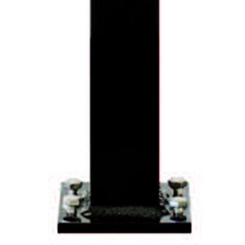 Westbury Aluminum Railing Post w/ Welded Plate & Self Leveling Bolts