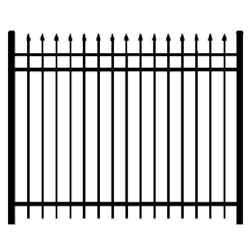 Regis 3131 Fence Panel Line Drawing
