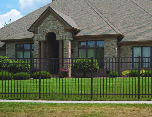 Fences - Ornamental Aluminum Fences - Regis Ornamental Aluminum