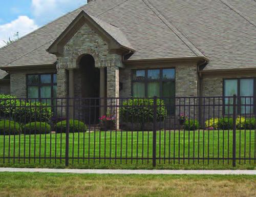 Regis 3230 Flat Top Aluminum Fence