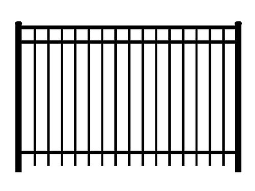 Regis 3230 Flat Top Fence Line Drawing