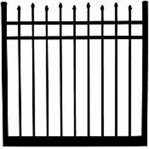 Regis 3132 Standard Aluminum Gate Drawing