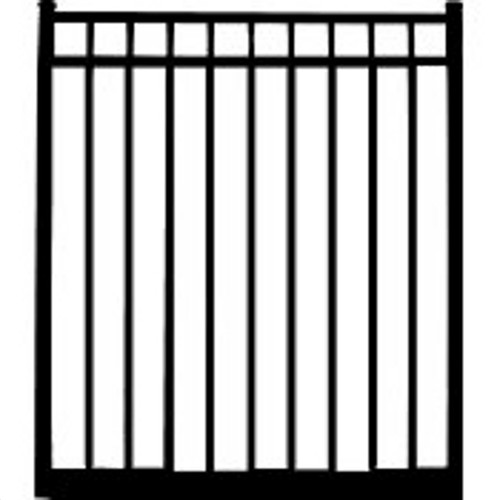 Regis 3230 Standard Aluminum 3-Rail Gate Drawing