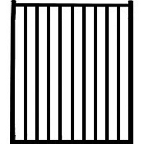Regis 3220 Standard Aluminum Pool Fence Gate Drawing