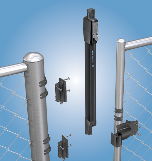 MagnaLatch Round Post Adapter for Chain Link Gates