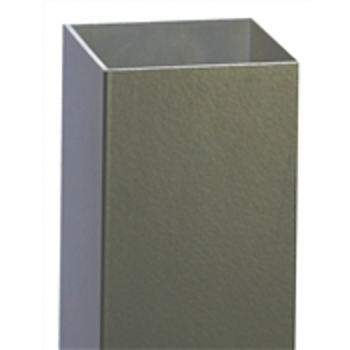 "Regis 2"" x 2"" x .090"" Blank Posts for 3000 Series Aluminum Fence"