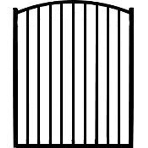 Regis 3220 Arched Aluminum Pool Gate with Fully Welded Frame