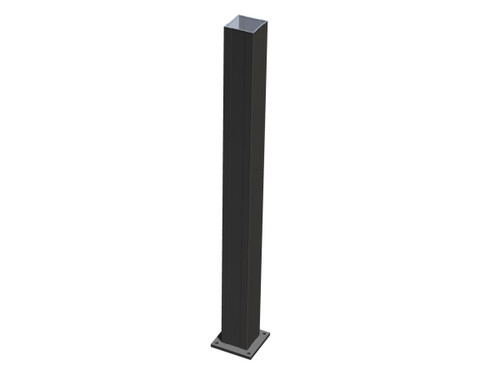 Aluminum Newel Post for Key-Link Railing