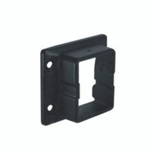 Bottom Arabian Series Level Mount Bracket for Aluminum Railing - Black