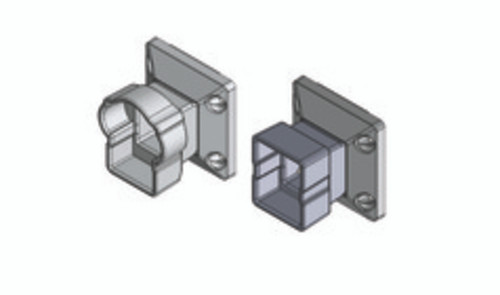 Key-Link Arabian Vertical Swivel Mounts - Illustration