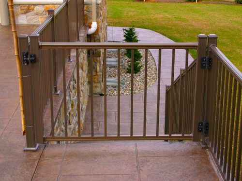 Key-Link Arabian Series Aluminum Gate - Hardware Sold Separately