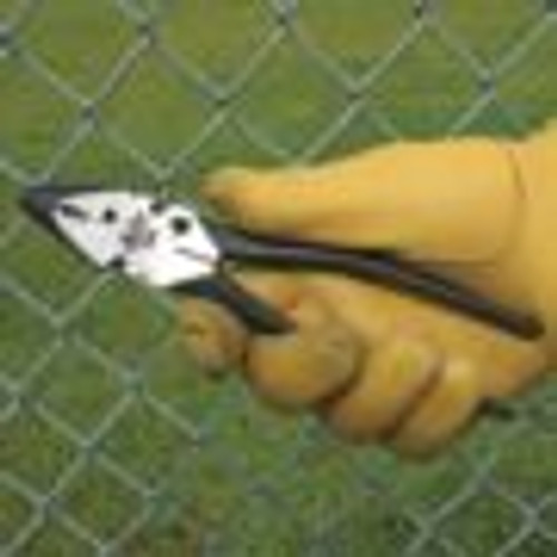 "Malco 10"" Fence Pliers Gripping Chain Link Fence Fabric"
