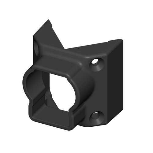 45-Degree Angle Bracket for Outlook Series Aluminum Railing