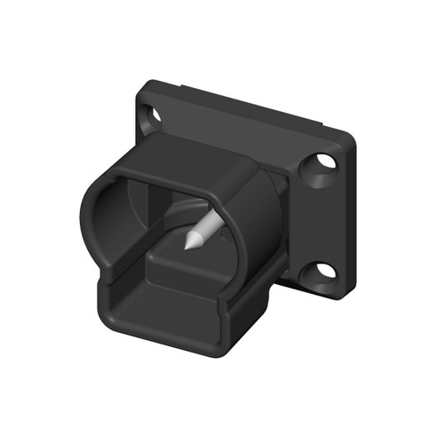 Top Horizontal Swivel Mount for Key-Link Outlook Series Aluminum Railing