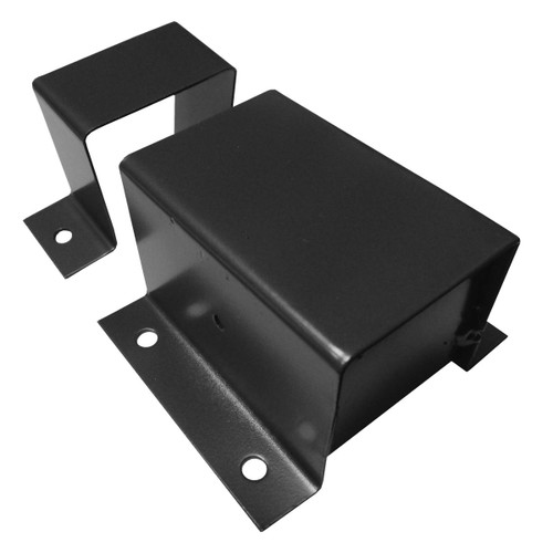 Post Side Mount Bracket for Key-Link Aluminum Railing Newel Posts
