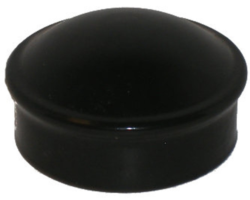 Black Pressed Steel Chain Link Dome Post Cap