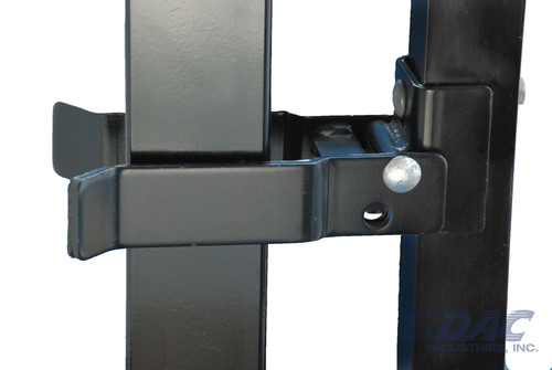 "DAC Industries Walk Gate Strong Arm Latch for 2-1/2"" Square Gate Frames"