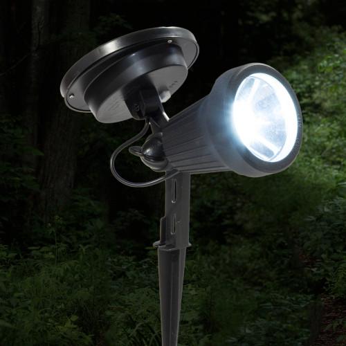 Black Solar Spotlight (PL427) from Classy Caps