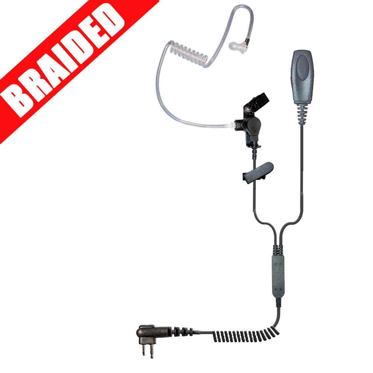 Patriot 2-Wire Surveillance Kit with Braided Cable