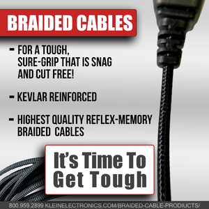 BodyGuard Split-Wire Kit with Braided Cable for Kyocera