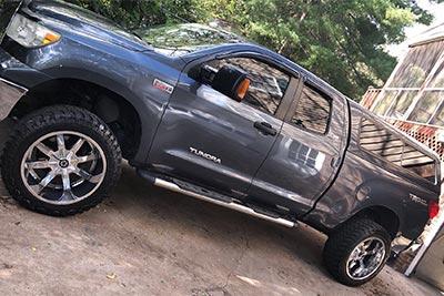 Toyota Tundra with Paradox Performance Muffler