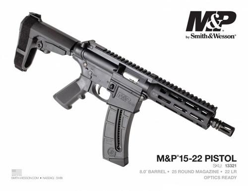 Smith & Wesson 15-22 Brace Pistol .22LR NEW