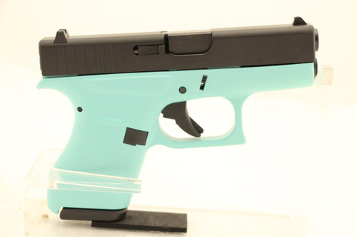 Glock Model 42 .380ACP NEW Tiffany Blue Frame