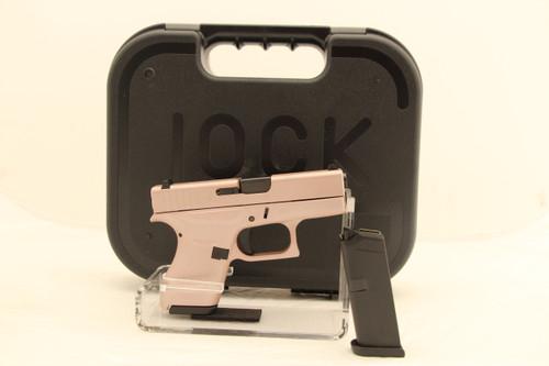 Glock 42 Rose Gold Talo Edition .380acp NEW