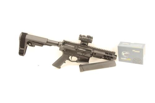 Brigade Arms BM-9 W/ SB Brace & Red Dot 9MM NEW