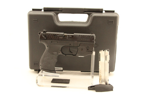 Walther P22Q .22LR W/ Laser NEW