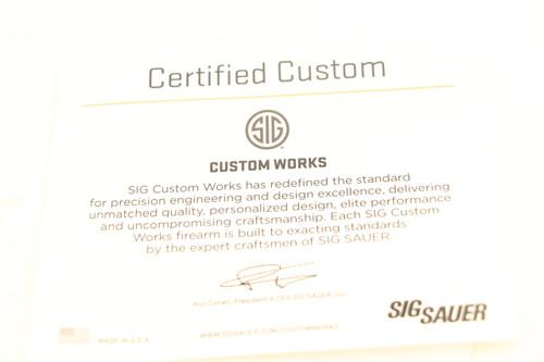 Sig Sauer P320XC Spectre Edition 9MM NEW