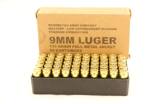 Rem 9mm 50rd Box