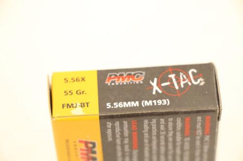 PMC X-Tac 5.56 55gr FMJ