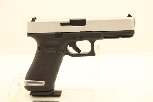 Glock 17 Gen 5 Talo Edition SIlver 9MM NEW