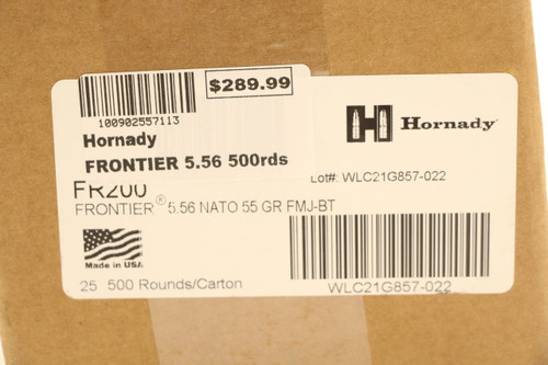 Frontier 5.56 500rds
