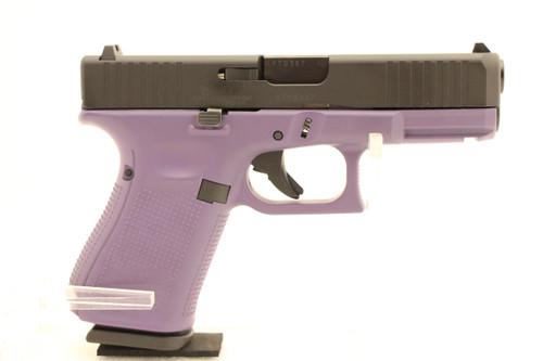 Glock 19 Gen 5 9MM W/ Purple Grip NEW