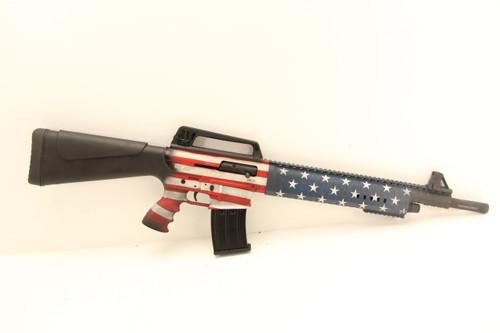 G Force Arms GF99 12GA AR Style American Flag Finish