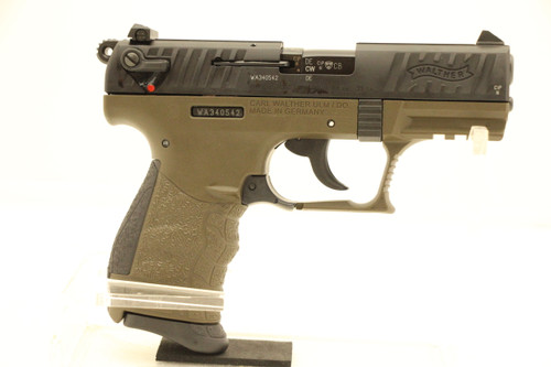 Walther P22Q Military Green NEW .22LR