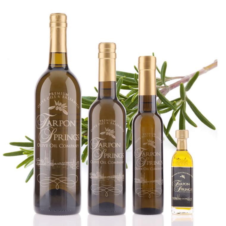 Bottles of Rosemary Fused Olive Oil