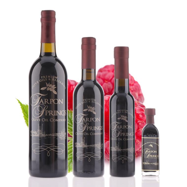 Bottle of Raspberry Dark Balsamic Vinegar
