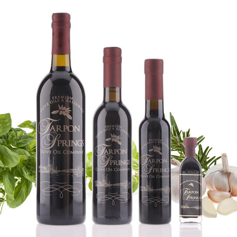 bottle of Neapolitan Herb Dark Balsamic Vinegar