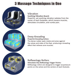 【送料無料】Shiatsu Leg Massager (Small)