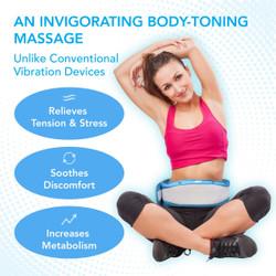 Oscillating Massage Belt with Heat