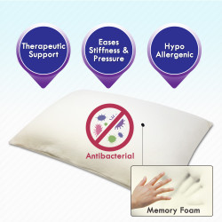 Comfort Touch Large Memory Foam Pillow