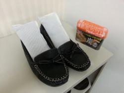 竹炭 シューズ用(100gx2個) / Bamboo Charcoal Moisture andOder Absorbers for Shoes-Set of 2-100g each