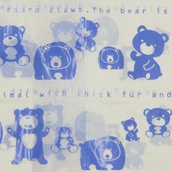 ニューくまさんの手さげ袋 25枚入 / Vinyl Bag with Gore (Bear) - 25 pcs