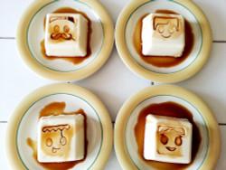 deLijoy 豆腐スタンプ ファミリー  / Tofu stamp - family
