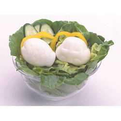 deLijoy ゆでたまごっこ さかな&くるま  / Egg Shapers - Car & Fish