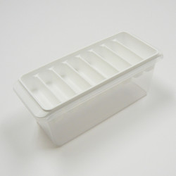 delijoy ゆきポン ブロック氷BOX / Ice Block Tray with Container & Lid