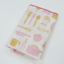 deLijoy キッチンふきん ピンク  / Kitchen Cloth Pink